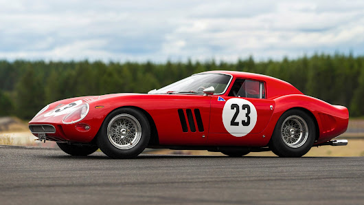 The Most Expensive Car Ever Sold at Auction Is This 1962 Ferrari 250 GTO For $48.4 Million