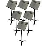 Manhasset Model #84C Concertino Symphony Music Stand 6-Pack