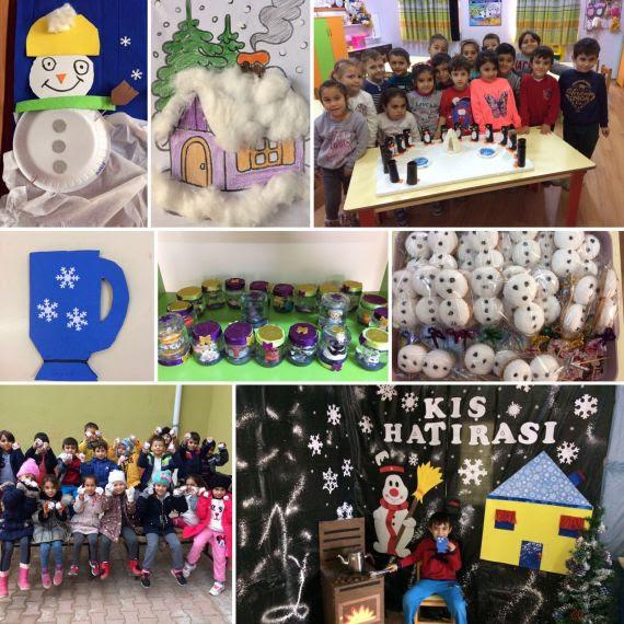 Okul öncesi öğrencilerimizin Kış Etkinliği Eğitim Bilişim Ağı