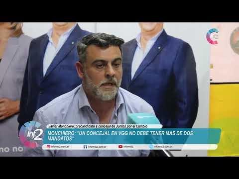 """Monchiero: """"Los concejales no debería tener más de dos mandatos"""""""
