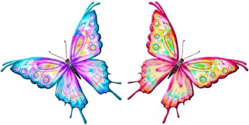 Dibujos De Mariposas A Color Para Imprimir Imagui