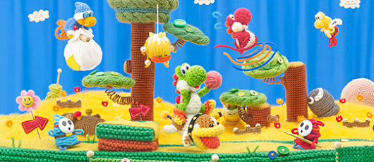 Poochy & Yoshi's Woolly World 3DS Game Review