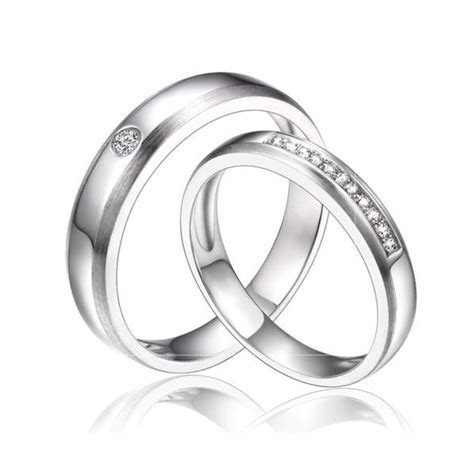 Wedding Bands: Silver Matching Wedding Bands