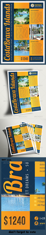 Contoh Brochure Travel Agency Contoh Bu