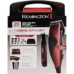 Remington HC1094 Home Barber Haircut Clipper Kit 14 Piece
