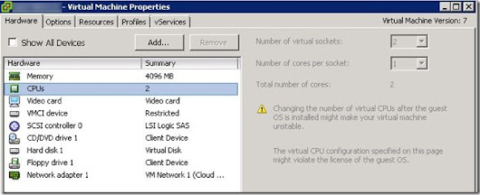 How to Hot Add CPU and RAM with VMware vSphere | Peter Viola