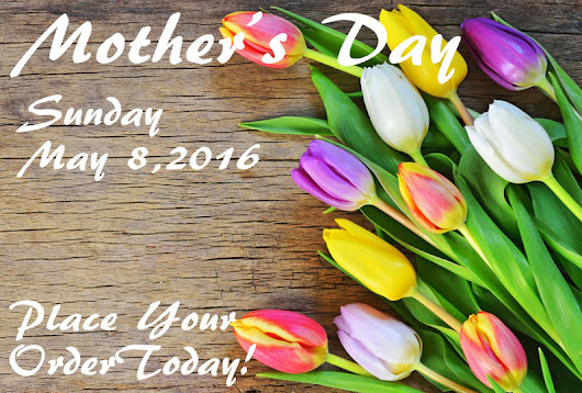 Mother's Day Is Next Sunday!