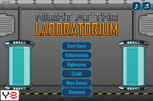 Night at the Laboratorium play online | unblocked games 77 at school | Pinterest