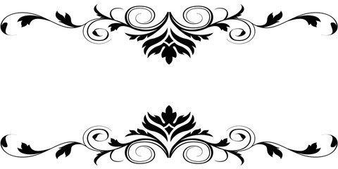 Flower Borders Black And White Free Download Best Flower Borders