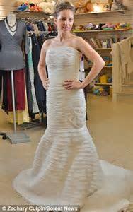 Anonymous bridal shop owner gives designer wedding dresses