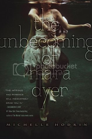The Book Rest - YA Book Review - The Unbecoming of Mara Dyer by Michelle Hodkin