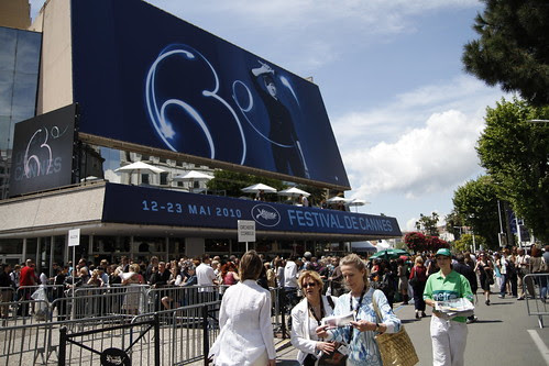 The Main Palais in Cannes Film Fest
