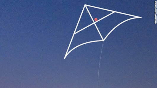 Kite detects pollution, shines light on Beijing smog