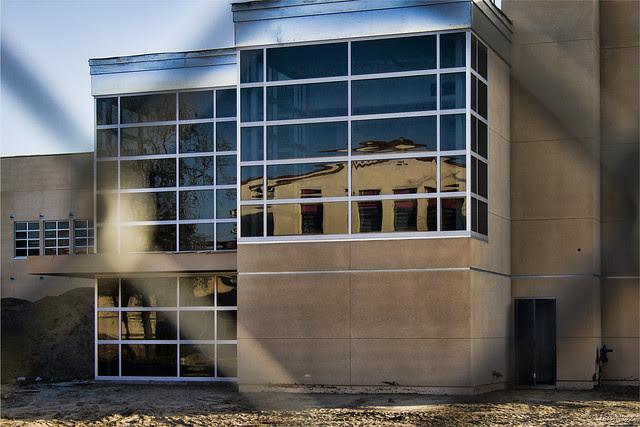 Downey High School construction