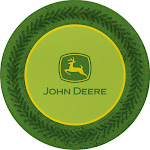 "John Deere 7"" Plate (8)"