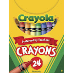 Crayola Classic Color Crayons Tuck Box - 24 pack