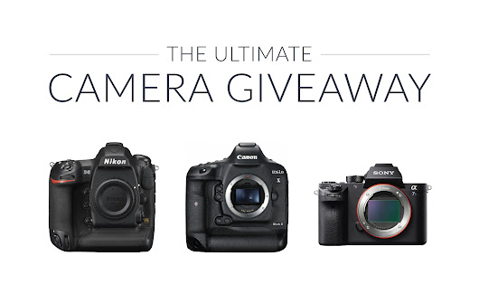 The Ultimate Camera Giveaway | Win a Canon 1DX II, Nikon D5, or Sony A7R II!
