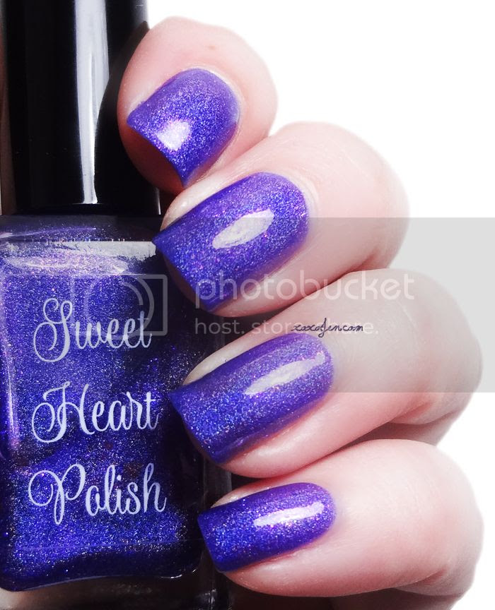 xoxoJen's swatch of Sweet Heart Polish Dahlia