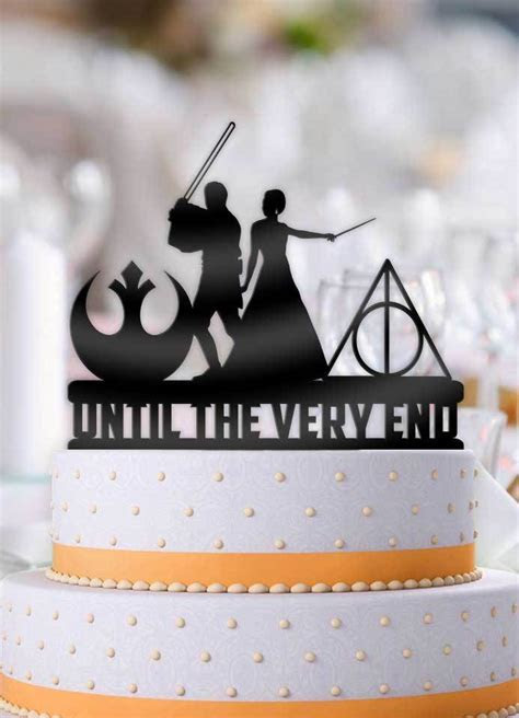 Star Wars Jedi and Harry Potter Mage Bride Until The Very