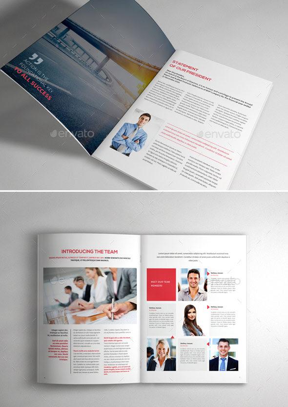 30 Awesome Company Profile Design Templates | Web ...