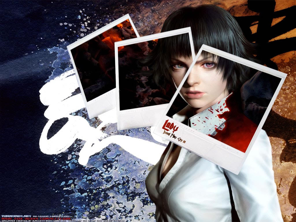 Lady Devil May Cry Wallpaper