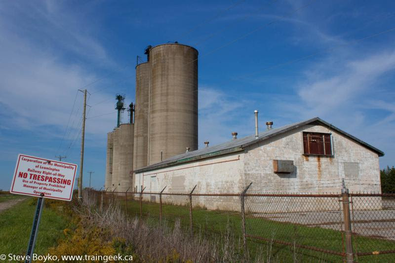 Blytheswood Ontario grain elevator