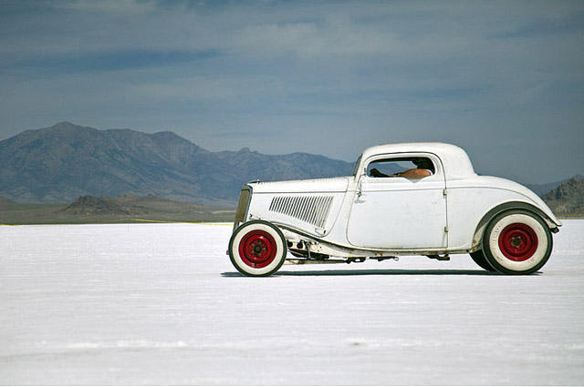 The Bonneville Salt Flats has been a favorite racing spot for decades, but some fear that's in danger. A new resolution draws attention to the problem.
