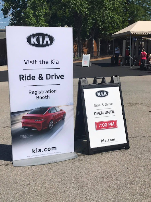 Fun and Thrills at the Six Flags Kia Ride & Drive Event - Sippy Cup Mom