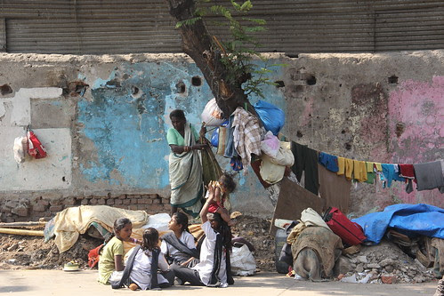 the greatest sufferers of demolished homes school going kids by firoze shakir photographerno1