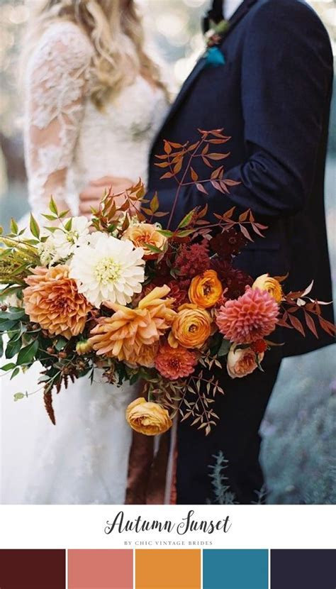 Best 25  Fall wedding colors ideas on Pinterest