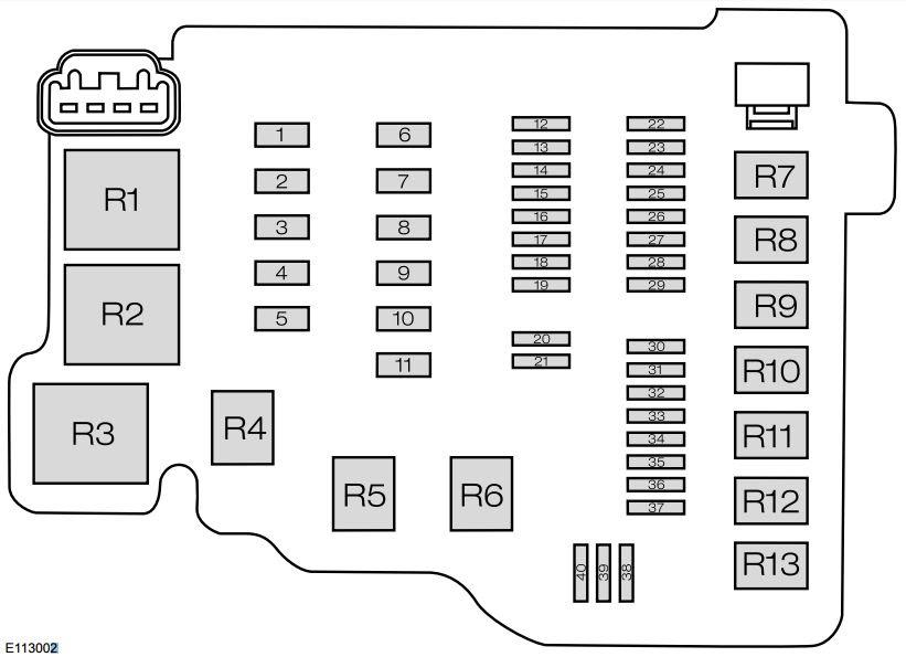 Ford Fiesta 2015 Fuse Box Diagram India Version Auto Genius