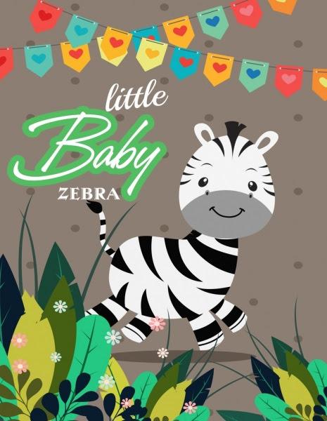75 Gambar Kartun Zebra Lucu Terbaru