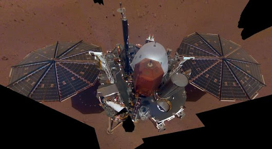 Space Images | InSight's First Selfie