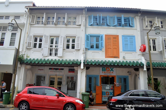 Why Stay in Box Capsule Hostel Singapore