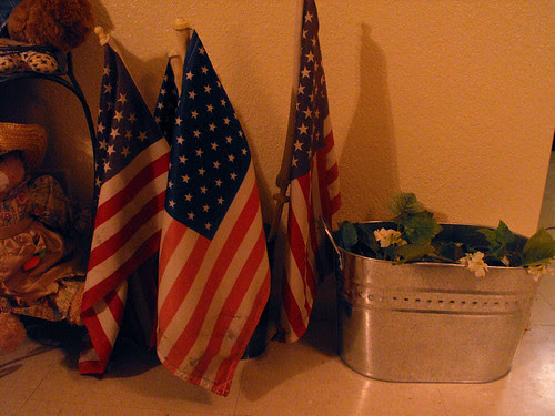 Old flags