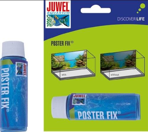 juwel colle pour poster aquarium terrarium poster fix clairages. Black Bedroom Furniture Sets. Home Design Ideas