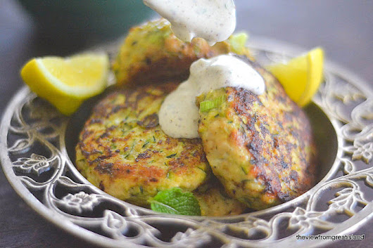 Turkey and Zucchini Burgers with Green Onion and Cumin | The View from Great Island