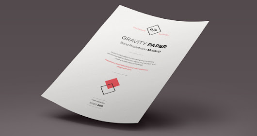 Psd A4 Paper Mock-Up Vol4 | Psd Mock Up Templates | Pixeden
