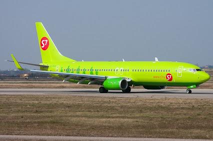 Боинг 737-800 S7 - схема