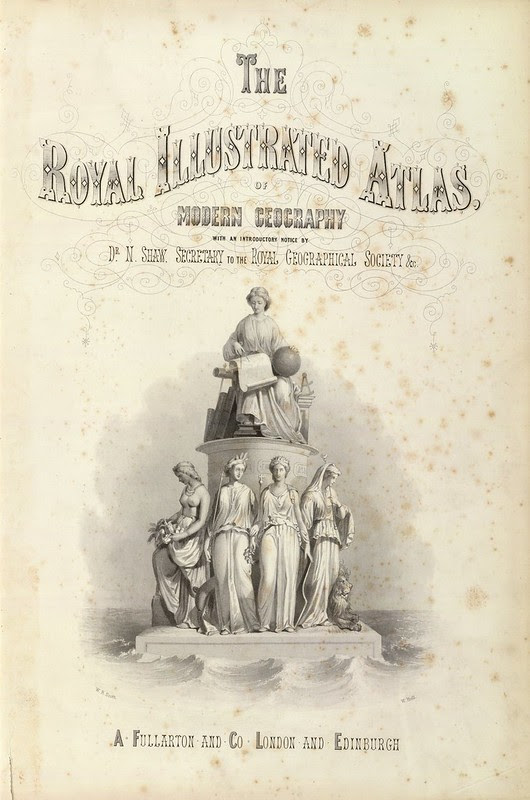 The Royal Illustrated Atlas, Of Modern Geography 1872