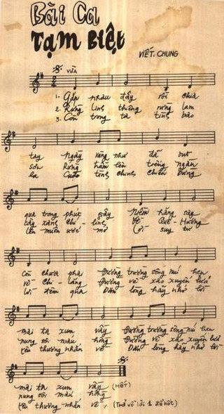 Harmonica Tabs - Bài ca tạm biệt (gặp nhau đây, rồi chia tay...) - Nhạc sĩ Viết Chung