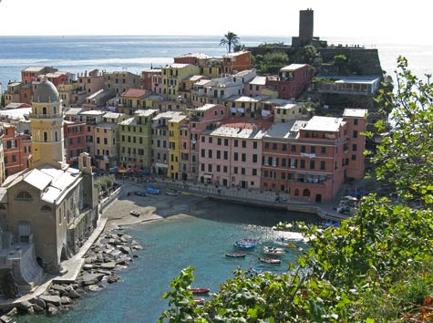Travel Europe - Visit Vernazza Italy