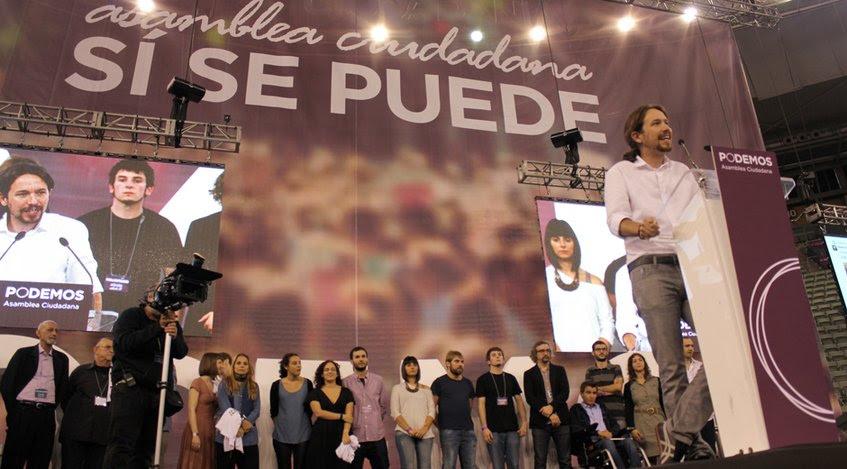 Pablo Iglesias, dirigente de Podemos