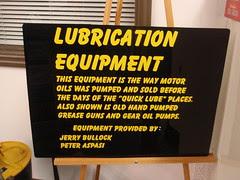 lubrication equipment