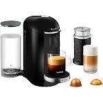 Breville Nespresso VertuoPlus Deluxe Coffee and Espresso Machine Bundle (BNV450BLK)