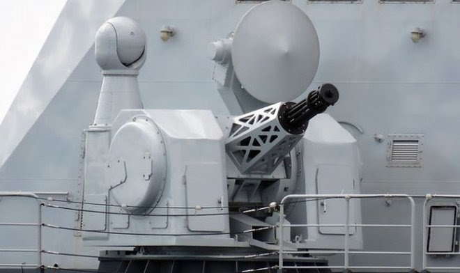 В Китае идет разработка титанической 20-ствольной пушки Гатлинга