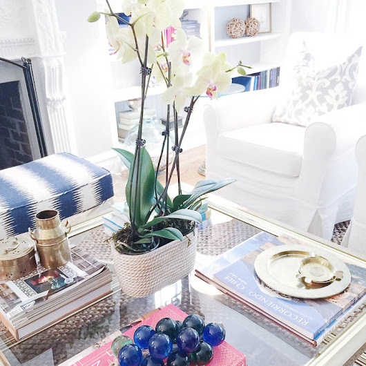 How to Style a Coffee Table - Coffee Table Styling - A Blissful Nest