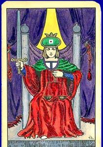 cartea de tarot Dreptatea