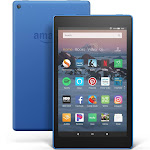 """Amazon Fire HD 8 - Wi-Fi - 16 GB - Marine Blue - with Special Offers - 8"""""""