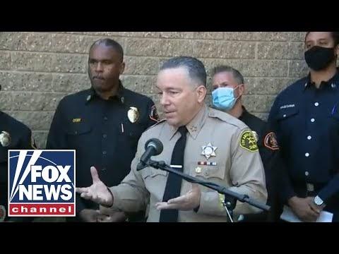 LA Sheriff updates public on Tiger Woods' car crash